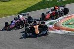 Jack Aitken (Campos), Marino Sato (Trident) und Felipe Drugovich (MP Motorsport)