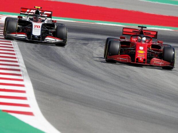 Sebastian Vettel, Kevin Magnussen