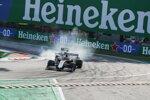 Romain Grosjean (Haas) und George Russell (Williams)