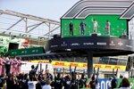 Carlos Sainz (McLaren), Pierre Gasly (AlphaTauri) und Lance Stroll (Racing Point)