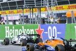 Pierre Gasly (AlphaTauri) und Carlos Sainz (McLaren)