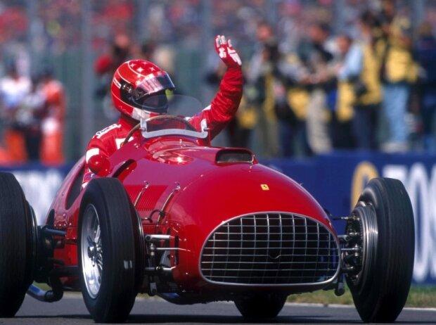 Michael Schumacher, Ferrari 375 von 1951