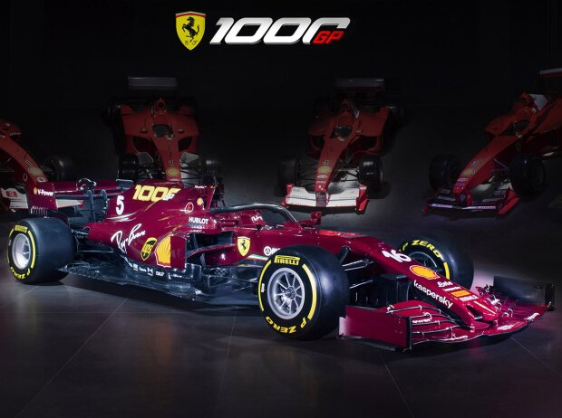 Ferrari-Lackierung