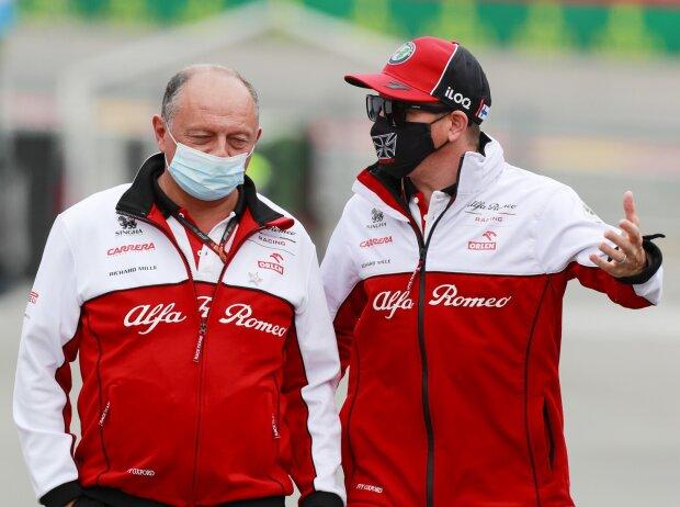 Frederic Vasseur, Kimi Räikkönen
