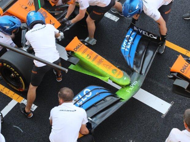 McLaren MCL35, Nase
