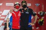 Francesco Bagnaia und Valentino Rossi