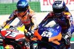 Alex Marquez (Honda) und Miguel Oliveira (Tech 3)