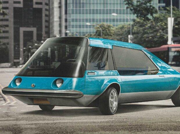 Futuristische Designstudien der Automobil-Historie