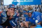 Alex Rins und Jose Manuel Cazeaux