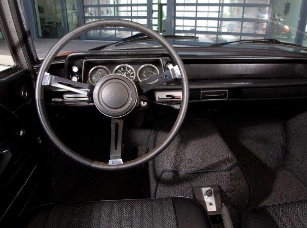 BMW 1602 mit Elektromotor bei der Olympiade 1972