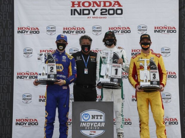 Alexander Rossi, Michael Andretti, Colton Herta, Ryan Hunter-Reay