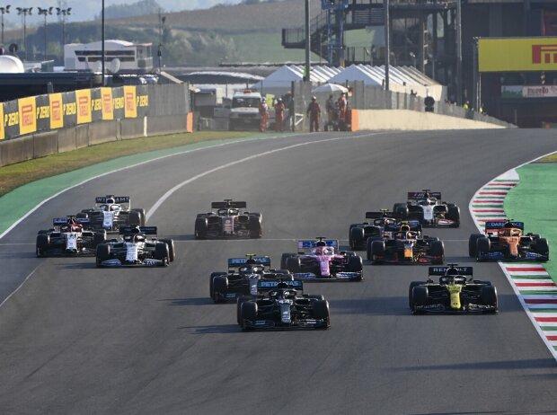 Lewis Hamilton, Daniel Ricciardo, Valtteri Bottas, Sergio Perez