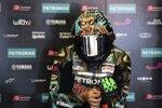 Franco Morbidelli mit seinem Misano-Helm