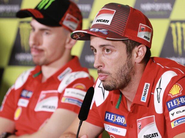Andrea Dovizioso, Jorge Lorenzo