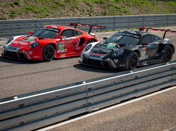 Porsche 911 RSR, Le-Mans-Design 2020
