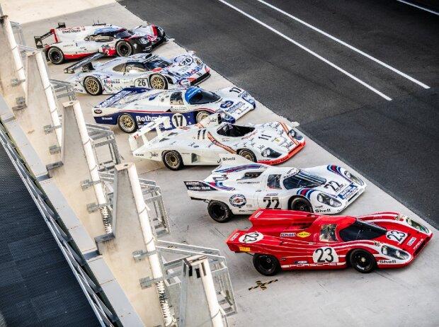 Porsche 917 K, Porsche 936/81 Spyder, Porsche 962 C, Porsche 911 GT1 '98, Porsche 919 Hybrid