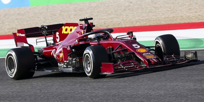 Ferrari Kündigt Komplett Neuen Formel 1 Motor Für Saison 2021 An