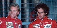 Stefan Johansson, Alain Prost