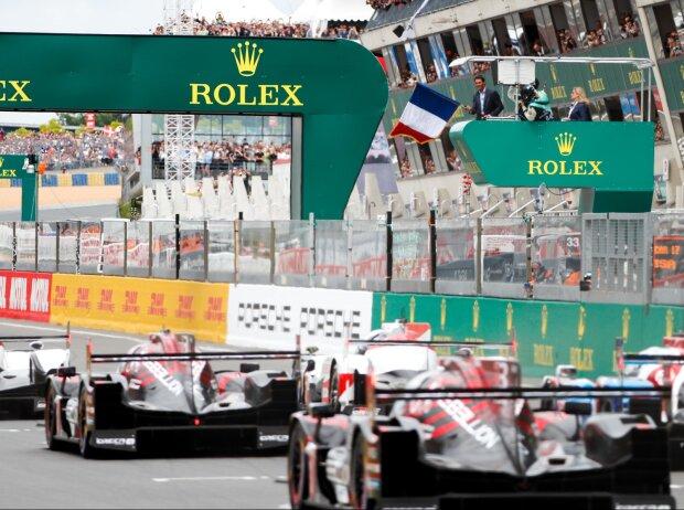 24h Le Mans, Start
