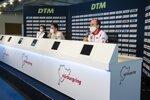 Lucas Auer (RMG-BMW), Robin Frijns (Abt-Audi) und Robert Kubica (ART)