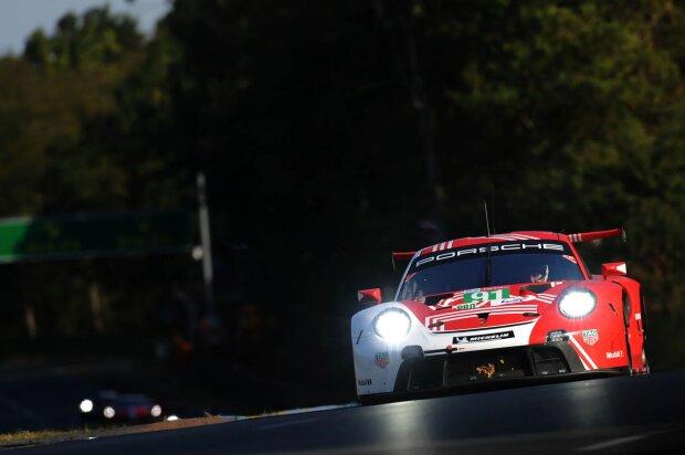 Gianmaria Bruni Frederic Makowiecki Porsche Porsche GT Team WEC ~Gianmaria Bruni und Frederic Makowiecki ~