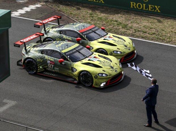 Leistungsexplosion Im Rennen Aston Martin Schiebt Es Auf Tincknell