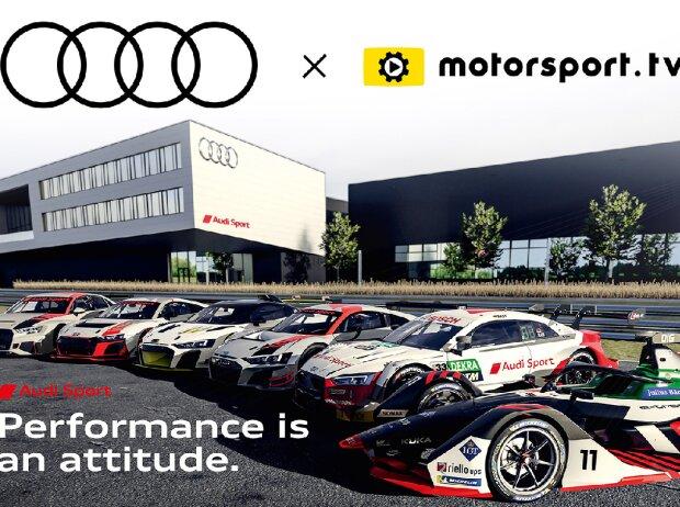 Audi-Kanal auf Motorsport.tv