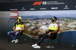 Esteban Ocon (Renault) und Daniel Ricciardo (Renault)