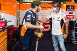 Santi Hernandez und Marc Marquez (Honda)