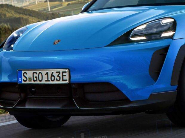 Porsche Macan Elektro (2022) Rendering