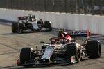 Antonio Giovinazzi (Alfa Romeo) und Kevin Magnussen (Haas)