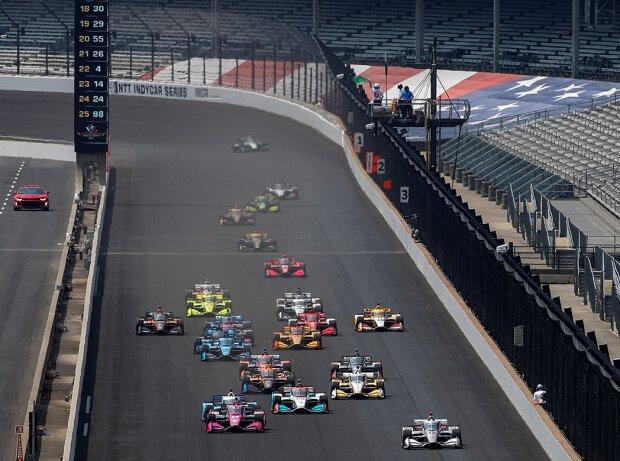 Start zum Indianapolis-Grand-Prix der IndyCar-Saison 2020