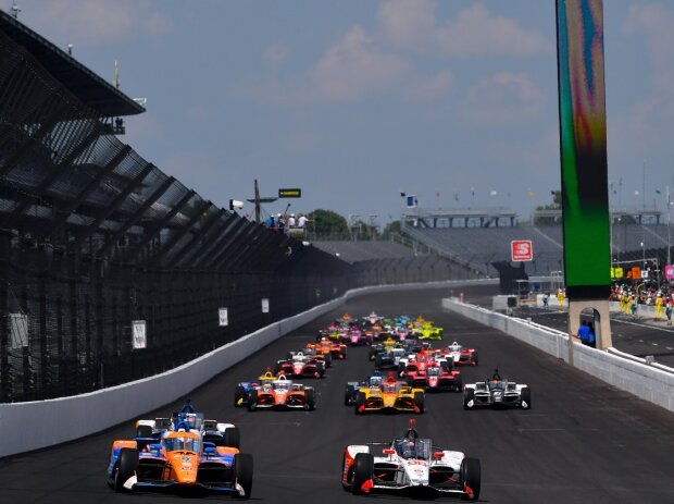 Start zum 104. Indy 500 am 23. August 2020