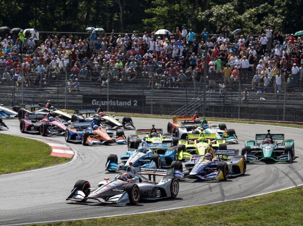Start zum Honda Indy 200 in Mid-Ohio 2019