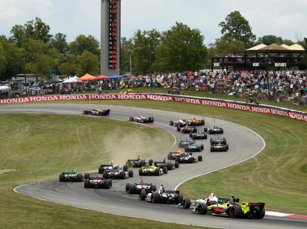 Start zum Honda Indy 200 in Mid-Ohio 2018