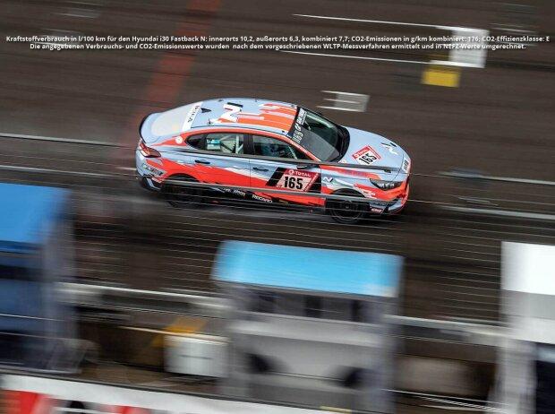 Hyundai i30 Fastback N des Hyundai Team Engstler bei den 24h vom Nürburgring 2020