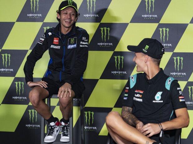 Valentino Rossi, Fabio Quartararo