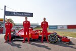 Callum Ilott, Robert Schwarzman Mick Schumacher (Ferrari) mit dem Ferrari SF71H