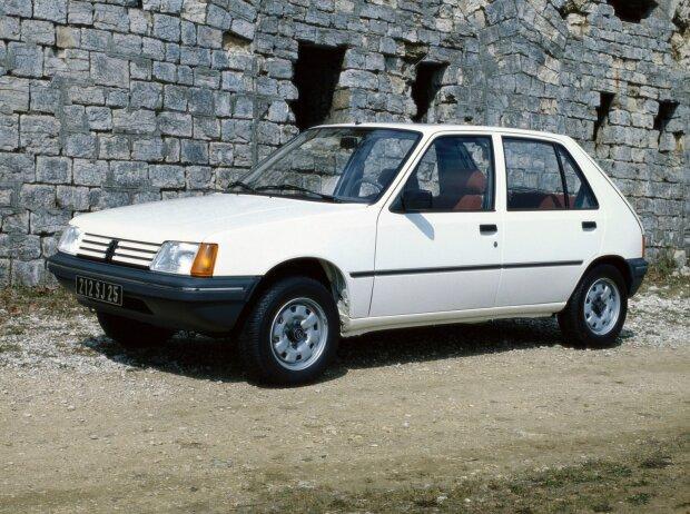 Loic Duval, Peugeot 205