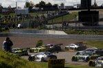 Action beim GT-Masters auf dem Sachsenring