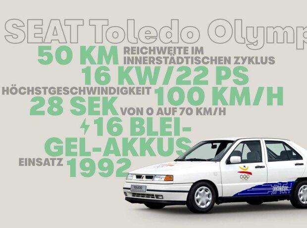 Seat Toledo Elektro für die Olympischen Sommerspiele 1992