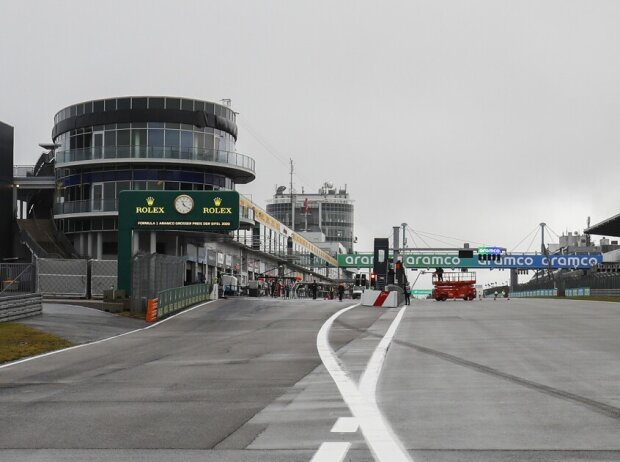 Zielgerade Nürburgring