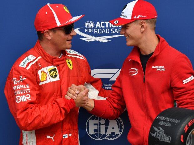 Mick Schumacher, Kimi Räikkönen