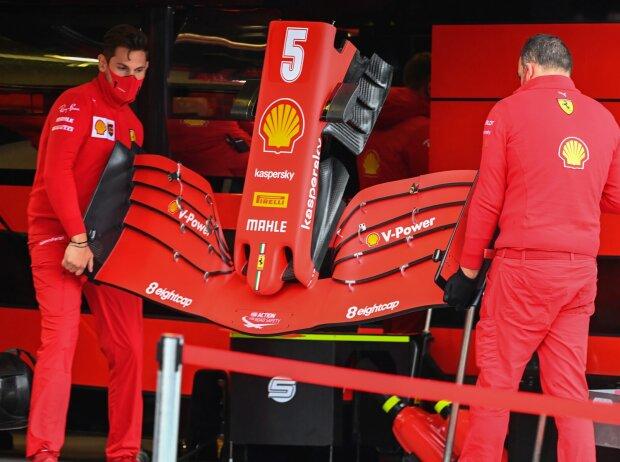 Ferrari-Frontflügel von Sebastian Vettel