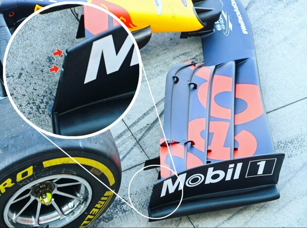 Red Bull RB16, Frontflügel