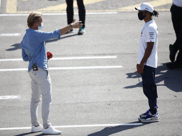 Nico Rosberg und Lewis Hamilton