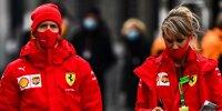 Sebastian Vettel und Britta Roeske