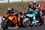 Pol Espargaro (KTM) und Fabio Quartararo (Petronas)