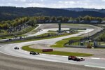 Charles Leclerc (Ferrari), Romain Grosjean (Haas) und Sergio Perez (Racing Point)