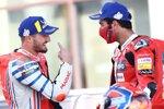 Jack Miller (Pramac) und Danilo Petrucci (Ducati)